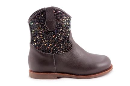 Laars Zwart Met Glitter Cowboy
