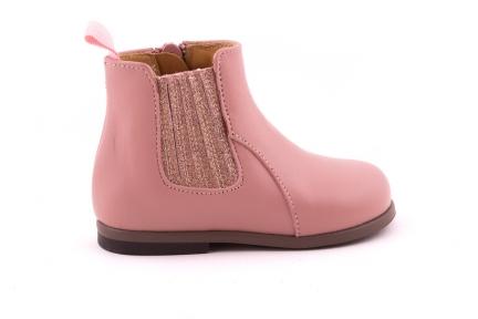 Laars Roze Leder Glitter Roze Rekker