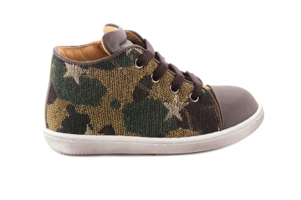 Sneaker Klein Camouflage Rubber Tip