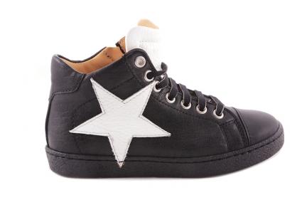 Sneaker Zwart Witte Ster