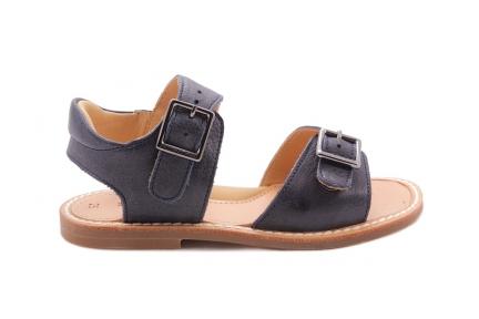 Sandaal 2 Gespen Donkerblauw