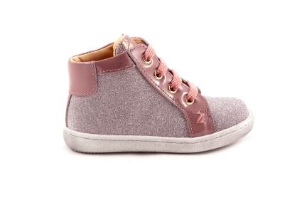 Sneaker Fijne Roze Glitter Lak Accenten