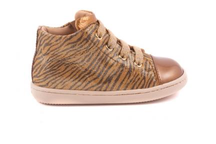 Sneaker Tip Goud Lak Zebra Goud Nubuck