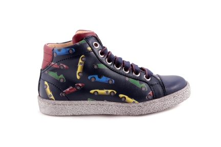 Sneaker Race Blauw Groot