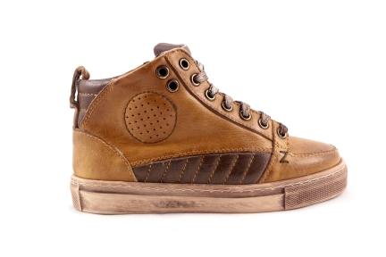 Sneaker Groot Oker Waxed