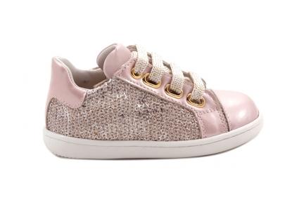 Sneaker Klein Roze Lak Roze Glitter
