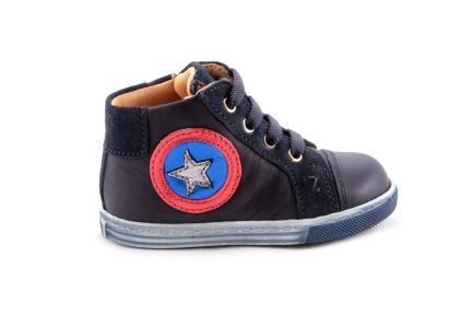 Sneaker Blauw Ster Blauwroodwit