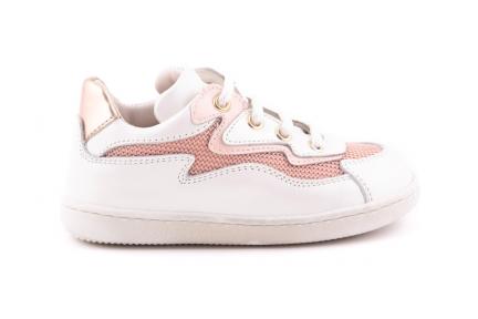 Sneaker Wit Met Roze Details Bliksem