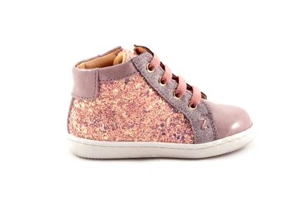 Sneaker Roze Glitter Roze Lak