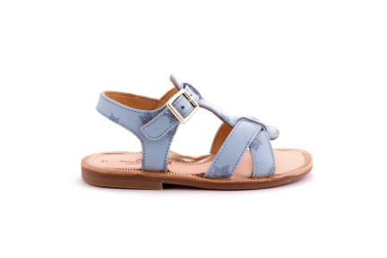 Sandaal Uiltjes Blauw