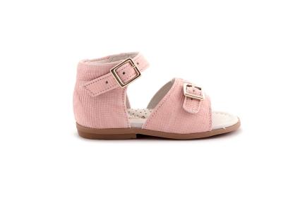Sandaal Carreautjes Roze