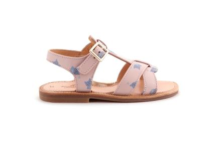 Sandaal Uiltjes Roze