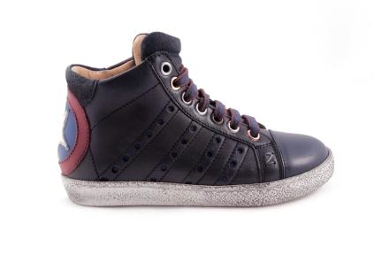 Sneaker Groot Blauw Ster Blauwroodwit