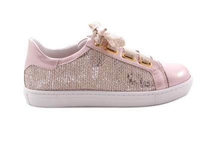 Sneaker Groot Roze Lak Roze Glitter