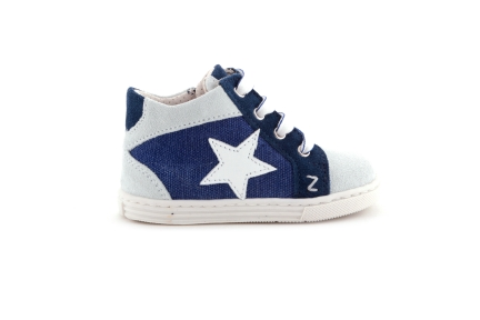 Sneaker Jeans Ster Daim