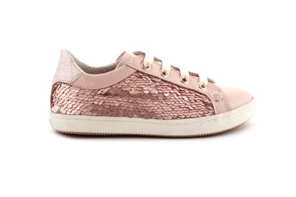 Sneaker Paillette Lak Roze