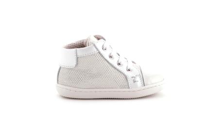 Sneaker Glitter Wit Lak